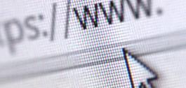 Barra de direccións dun navegador.